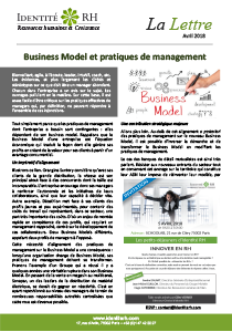 Lettre Avril 2018 - Business Model et pratiques de management